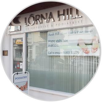 lorna hill podiatrist torbay